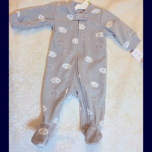 🎉Carter's  baby boy zippered jumpsuits  size:3 M